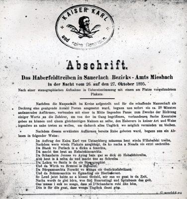 Haberfeldtreiben, Sauerlach, Miesbach, Oberbayern,Brauchtum, Sühnegericht