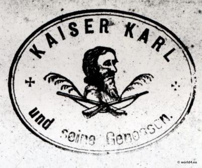 Haberfeldtreiben, Kaiser, Karl, Untersberg, Oberbayern, Brauch, Brauchtum, Sühnegericht