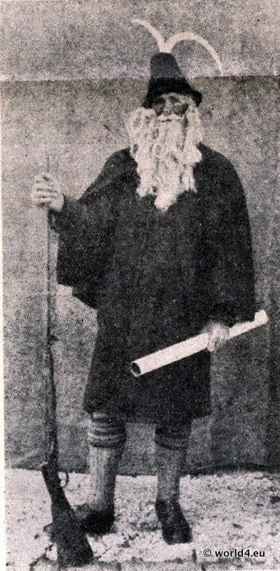 Thomas Bacher (1863 - 1945) war der Haberfeldmeister des letzten großen Haberfeldtreibens 1893 in Miesbach und später Funktionär der Bayerischen Trachtenpflege.