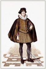 Ferdinand II., Kaiser von Deutschland in Barock Mode.