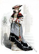 Deutsche Edelfrau um 1520