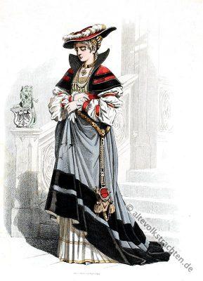 Renaissance, Kostüm, Bekleidung, Mode