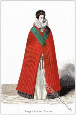 Deutsches Barock Kostüm. Bekleidung und Mode im 16. Jahrhundert.