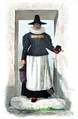 Barock Kostüme, 16. Jahrhundert Mode, Spanische Hoftracht, Modegeschichte, Kostümgeschichte, Historische Bäuerin Tracht, Bauernkrieg, Österreich