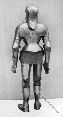 Harnisch, Plattenharnisch, Ritter, Mittelalter, Ritterrüstung, Rüstung
