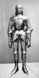 Plattenharnisch um 1480. Rüstung des 15. Jahrh.