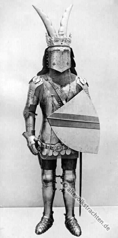 Ritter, Rüstung, Mittelalter, Soldat, Helm, Militär, Schild, Schwert