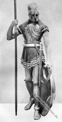 Griechenland, Militär, Antike, Hoplite, Rüstung, Harnisch, Bewaffnung,