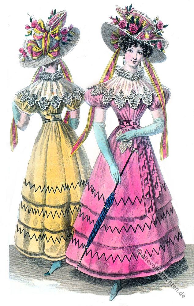 Women S Fashion Restoration Period
