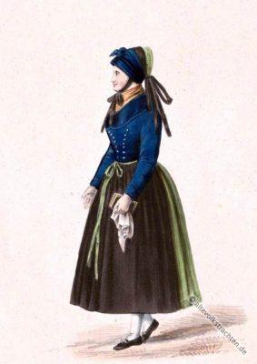Irmelshausen Original Dirndl. Alte Deutsche Originaltrachten. Historische Kostüme.