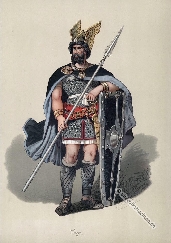 Hagen, Rheingold, Nibelungen, Richard Wagner, Kostüm, Oper