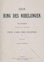 Das Rheingold. Der Ring des Nibelungen. Kostüm Entwürfe.