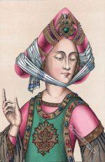 Turban, Burgunder Mode 15. Jahrhundert.