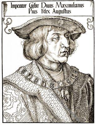 Albrecht Dürer, Holzschnitt, Kaiser Maximilian, Renaissance, 16. Jahrhundert, Deutsche Kunst