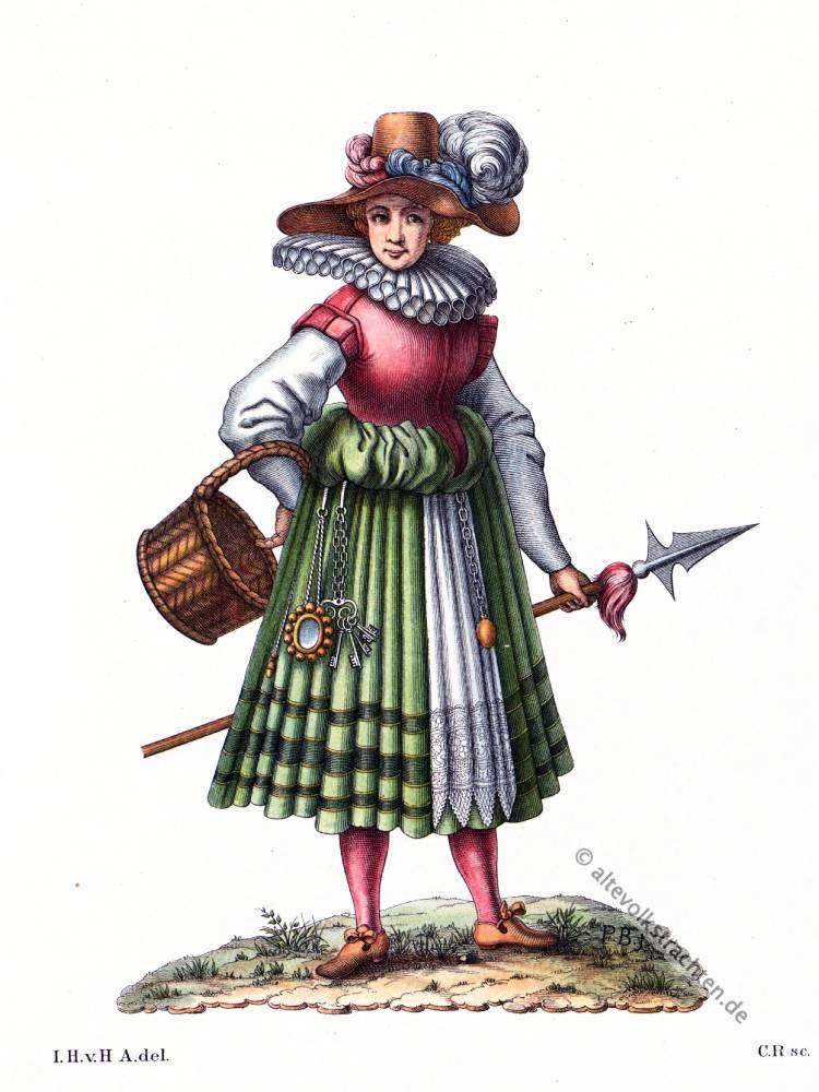 Marketenderin, 16. Jahrhundert