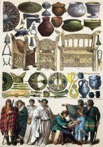 Historische Kleidung der Skandinavier, Bretonen, Irländer