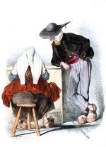 Kostüme aus der Umgebung von Auray, Arrond. Lorient.