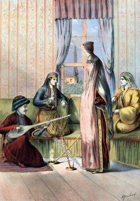 Braut, Armenien, Armenische Trachten, Osmanisches Reich, Historische Kleidung, Türkei, Kostümgeschichte