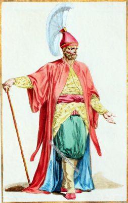 ÇorbacÄ�başÄ�, Janitschar, Janissary, Osmanisches Reich, Kostüm, Kostümgeschichte, Modegeschichte,
