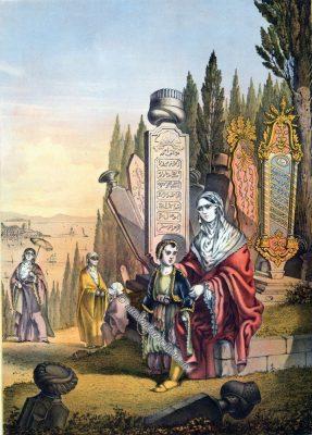 Frauen, Armenien, Armenische Trachten, Osmanisches Reich, Historische Kleidung, Türkei, Kostümgeschichte