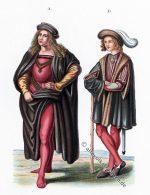 Männertrachten der Renaissance