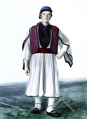 Historisch, Bulgarien, Tracht, 1900, Torvald Mitreiter