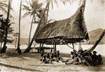 native house, Mary Pass, Papuasia, Papua New Guinea, J. W. Lindt