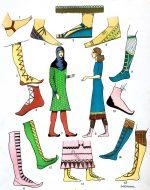 Schuhe, Sandalen, Stiefel. Assyrien, Mesopotamien.