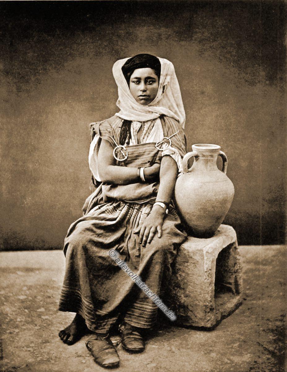 Beduine, Beduinen, Frau, Tunesien, Kostüm, Tracht, Nordafrika