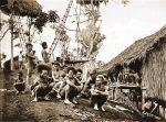 Koiari, Chiefs, natives, Papuasia, Papua New Guinea, J. W. Lindt,