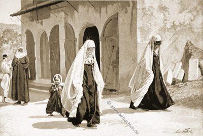 Muslimische Frauen, Strassenkleidung, Trachten, Bosnien, Herzegowina, Guillaume Capus, Reiseliteratur, Balkan