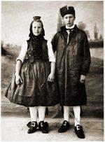 Schwälmer Paar, Hessen um 1912