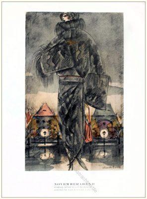 Fohlen, Kostüm, Mannheimer, Schmidt-Caroll, STYL, Modemagazin, 1920er, Modegeschichte, Art deco,
