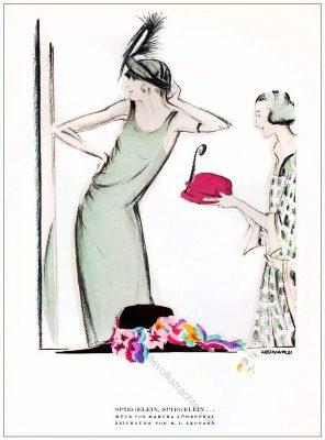 Martha Löwenthal, Hüte, Leonhard, STYL Modemagazin, 1920er, Modegeschichte, Art deco,