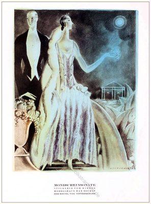 Stilkleid, Wien, Modellhaus, Max Becker, Annie Offterdinger, STYL Modemagazin, 1920er, Modegeschichte, Art deco,
