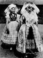 Wendische Bauernmädchen aus Heinersbrück