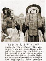 Radhaube, Trachtenhaube, Haube, Rottweil, Villingen, Baden-Württemberg, Rose Julien, Volkstrachten