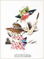 Mode Illustrationen der 20er Jahre