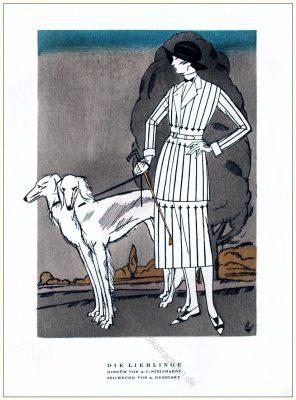 Steinhart, Regelsky, Kostüm, Styl, Modemagazin, 1920er, Modegeschichte, Art deco,
