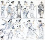 Griechische Frauentrachten der Antike