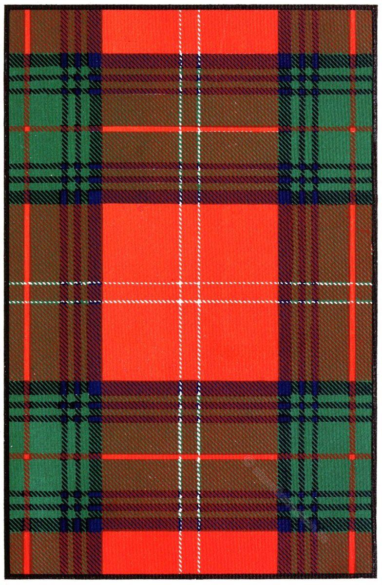 Tartan, Clan, Chisholm, Schottland, Scottish