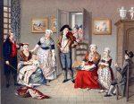 TRACHTEN UND ZIMMEREINRICHTUNG, 1794