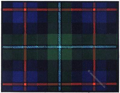 Tartan, Clan, Campell, Cawdor, Clans, Scottish, Highlands, Scotland, Schottland, costume