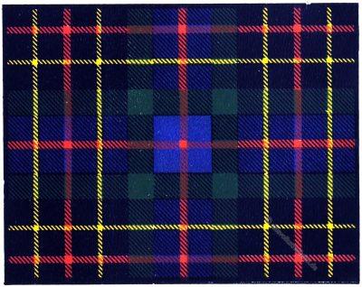 Tartan, Clan, Brodie, Hunting, Clans, Scottish, Highlands, Scotland, Schottland, costume