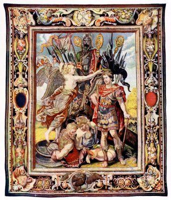 Gobelin, Barock, Kaiser, Konstantin, Kunsthistorie, Gobelinsammlung, Paris, 17. Jahrhundert