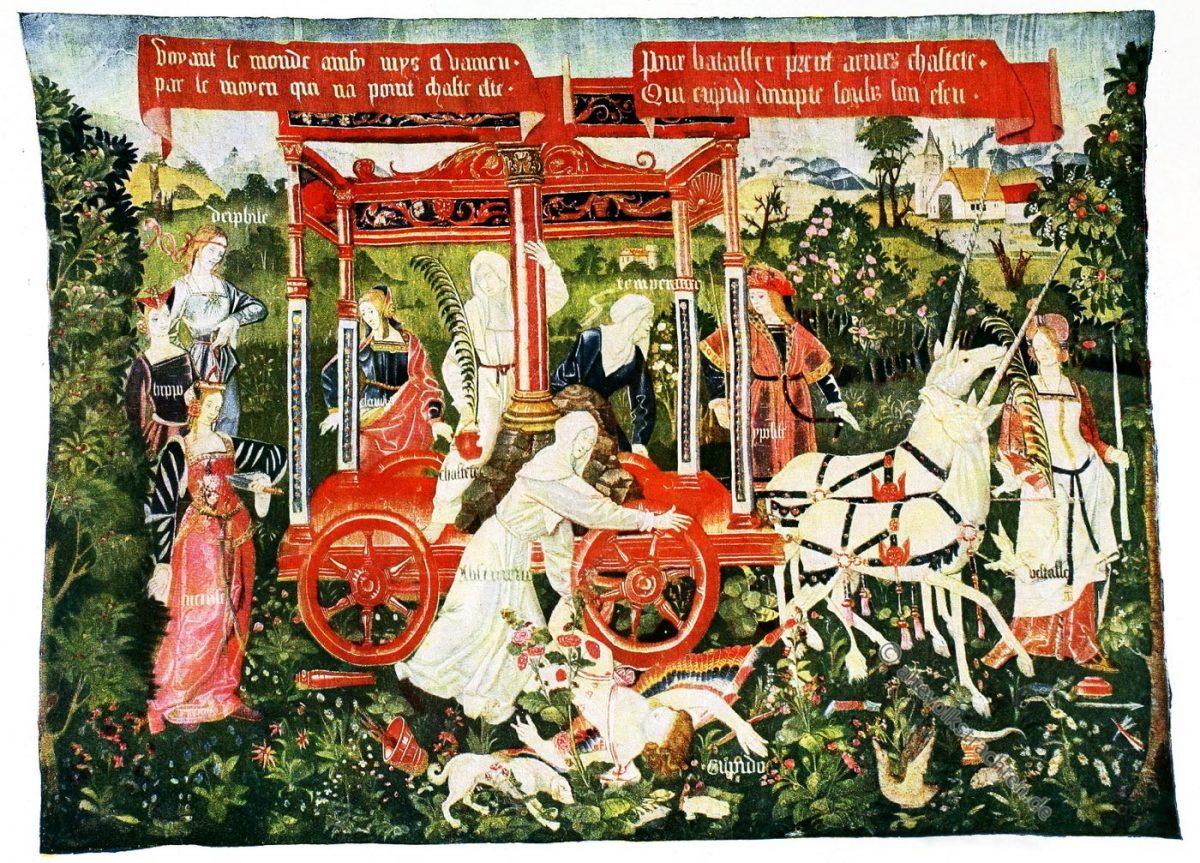 Gobelin, Touraine, Renaissance, Gobelins, Kunsthistorie, Gobelinsammlung, Textilgemälde, Bildteppiche, Bildwirkerkunst,