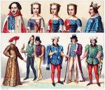 Die Houppelande. Trachten des französischen Adels 1364-1461.