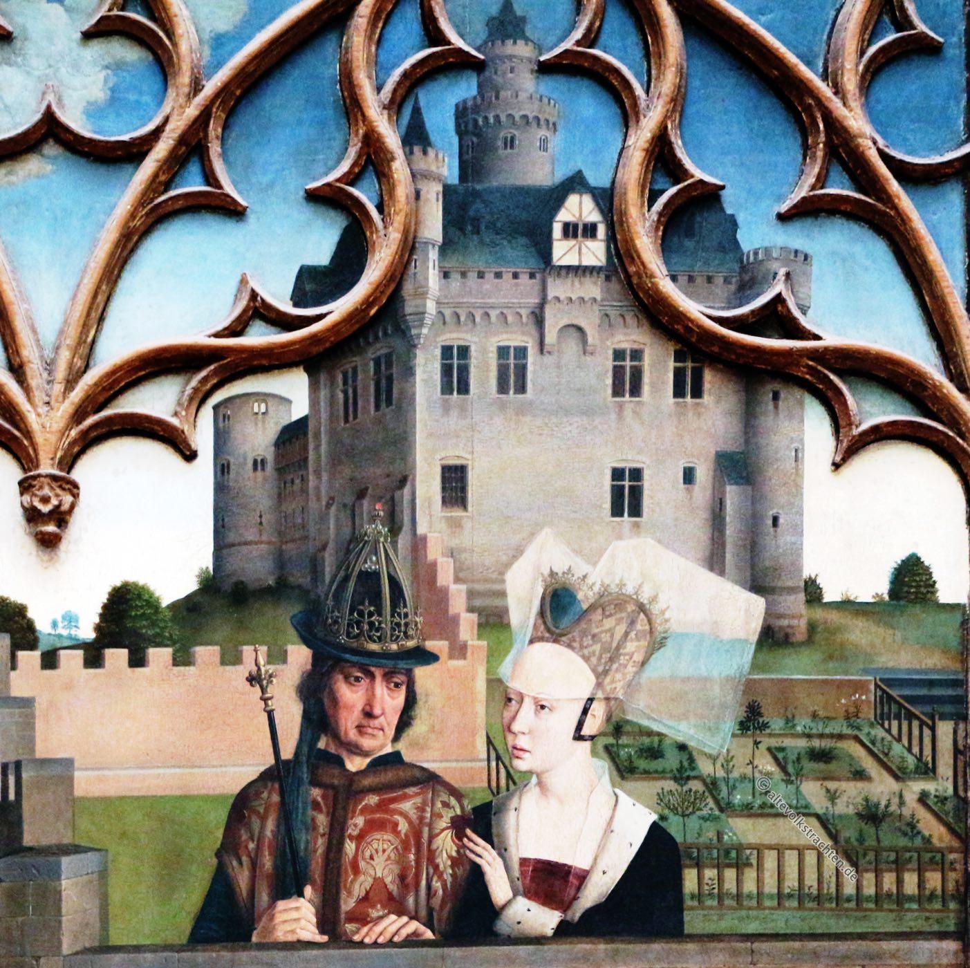 Dirk Bouts, Diptychon, Kaiser Otto III., Renaissance,