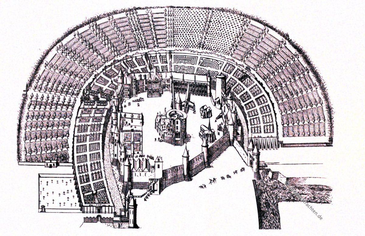 Montargis, Androuet DuCerceau, Bastiments, France, Rennaisance, Architecture, August Grisebach,