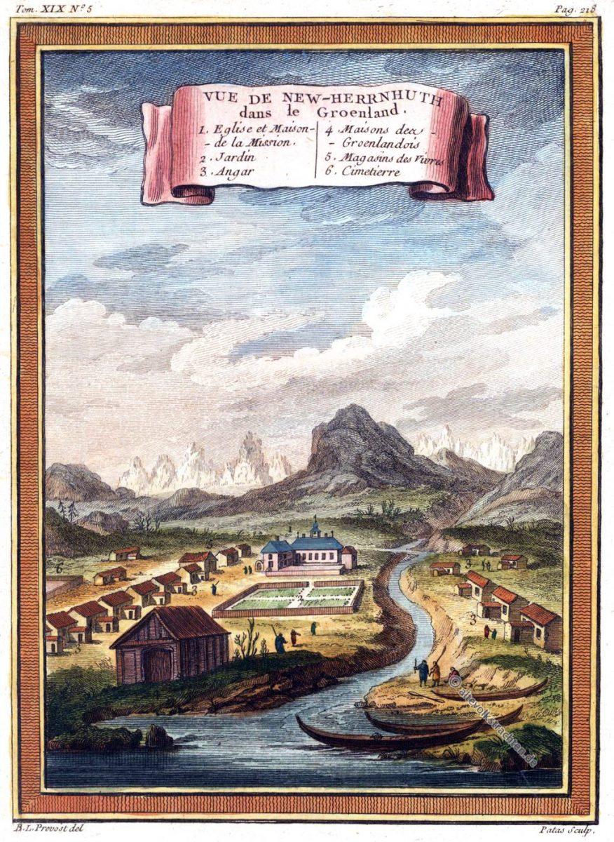 Grönland, New-Herrnhuth, Herrnhuter, Brüdergemeinde, Greenland, Nuuk, Groenland